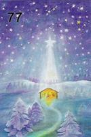 Jeesuksen syntymä-kortti