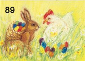 Pääsiäismunat-kortti