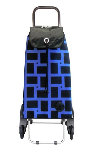 Shoppingvagn Rolser Rd6 Logic Geometric azul
