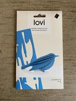 Lovikort Fågel Blå 8 cm  3D-pussel