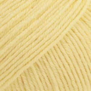 Cotton Merino Vaniljegul