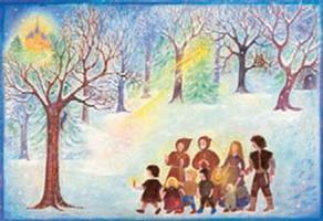 Jouluruusun legenda-adventtikalenteri