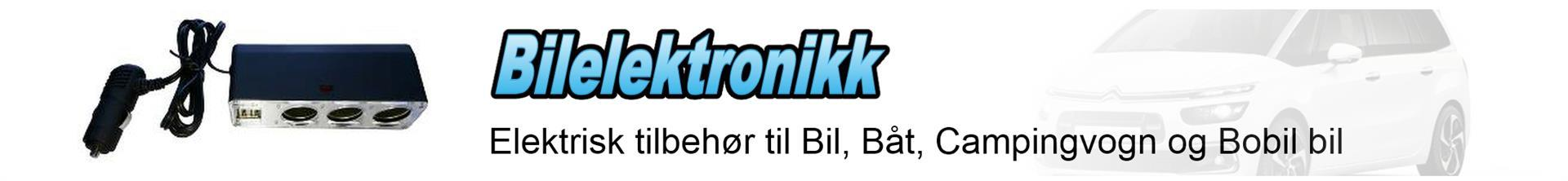 Elektronikk for bil, båt og caravan