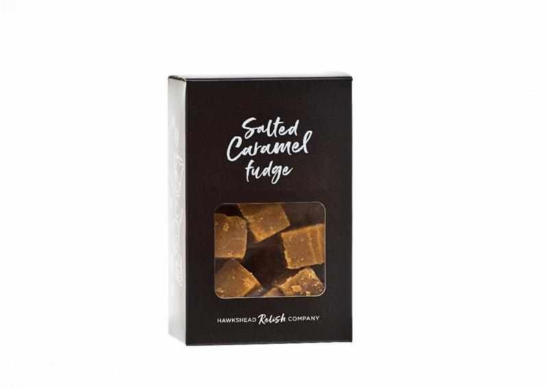 Boxed Salted Caramel Fudge 150g