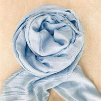 Three M Scarves, Light Blue