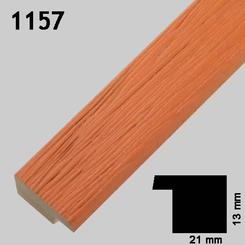 Greens rammefabrikk ramme oransje 1157