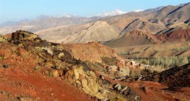 01 Abiyaneh, landsby i Zagrosfjellene