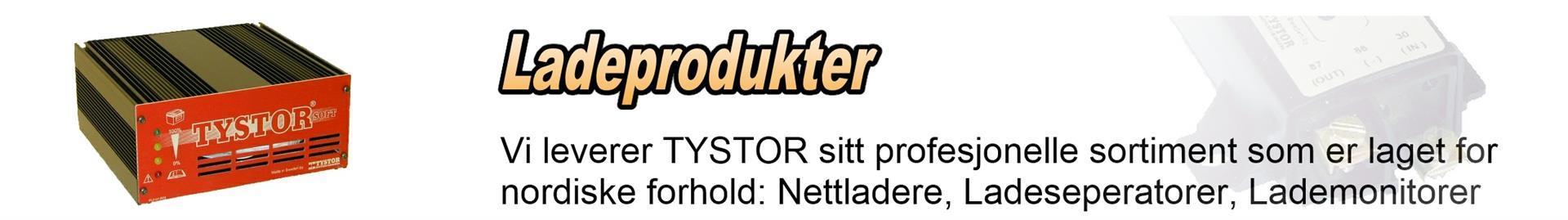 Ladeprodukter fra TYSTOR