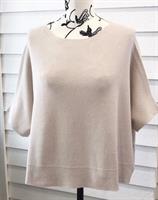 Piro Oversize Knit Vest, Panna