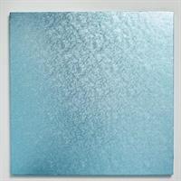 Cake Board KVADRAT 30,5cm Lys blå, 12mm