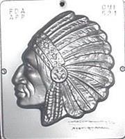 Plastform Høvding Mann