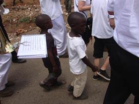 Makutano children