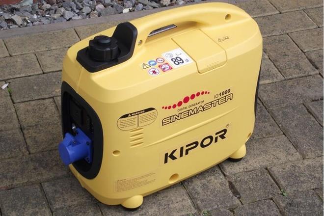 A generator produces 230V electric power safe for electronics
