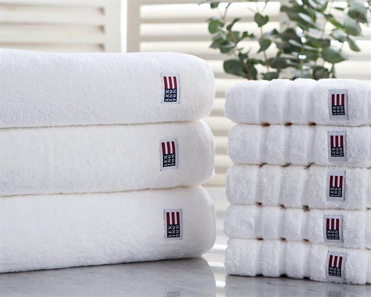 Lexington Original Bath Towel White, 70 x 130 cm