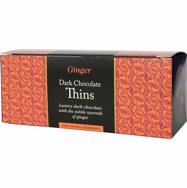 Dark Chocolate & Ginger 150g