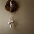Tine K Home Christmas Ball, Glass, 8 cm, Rose