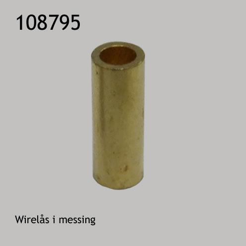 Wirelås i messing