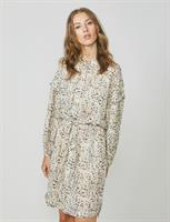 Summum Woman Printed Dress, Ivory