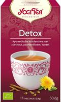 Yogi tee Detox 17 pussia, luomu
