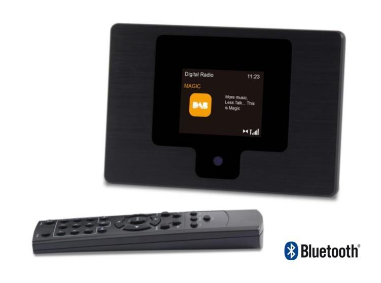 DAB-tuner m/Bluetooth SCANSONIC (VE8)