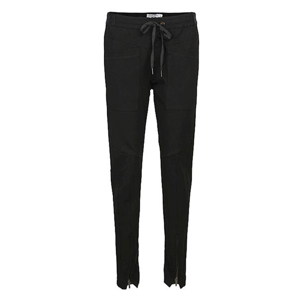 Summum Woman Trousers Punto Milano, Black
