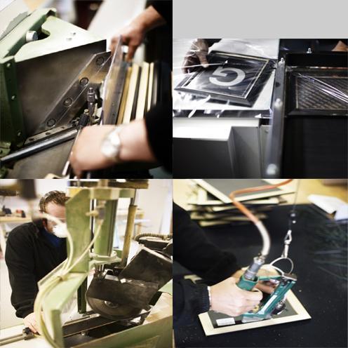 Greens rammefabrikk as, produksjon av bilderammer