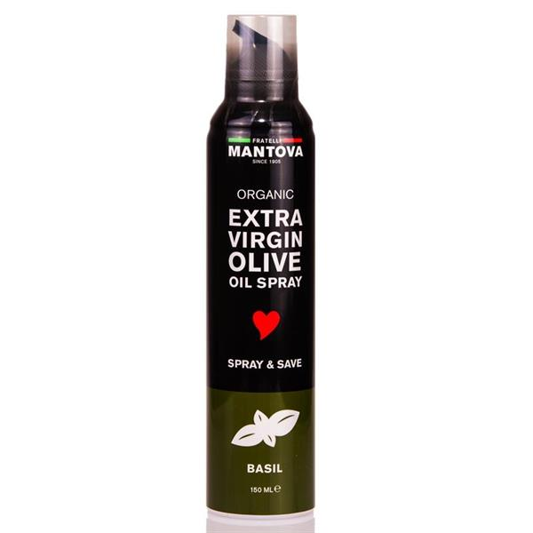 Extra Virgin Olive Oil Spray - Basil 150ml