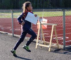 Anna på løp på Kalnes 2019