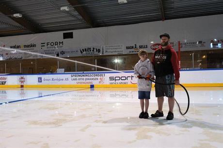 Nå blir det is!