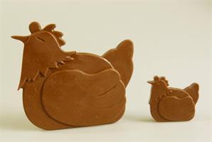 Silikonform Høner