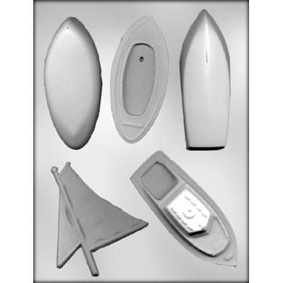 Plastform CK Seilbåt 3D