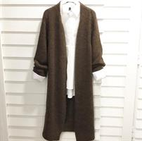 Piro Mohair Cardigan, Chocolate