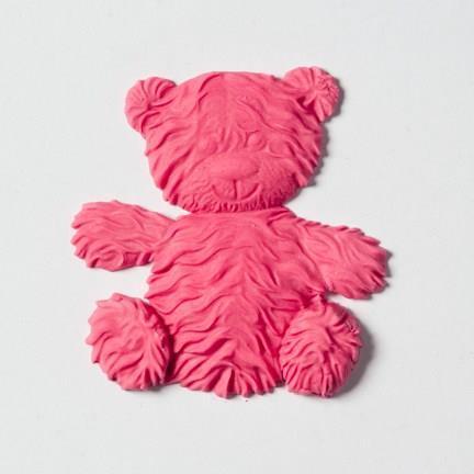 Silikonform Teddybjørn stor