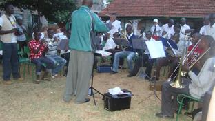 Kabete Band in action