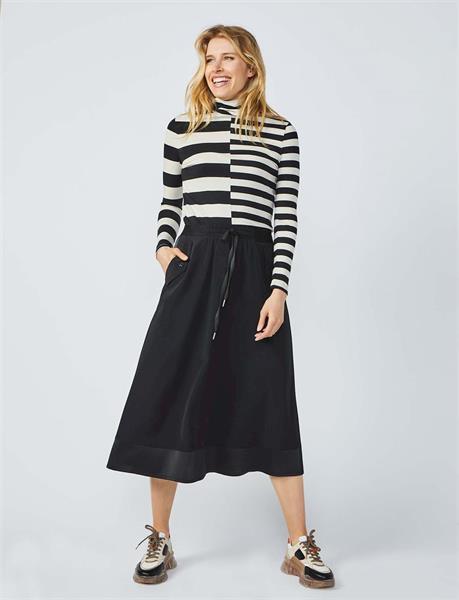 Summum Woman Skirt Crepe viscose blend, Black