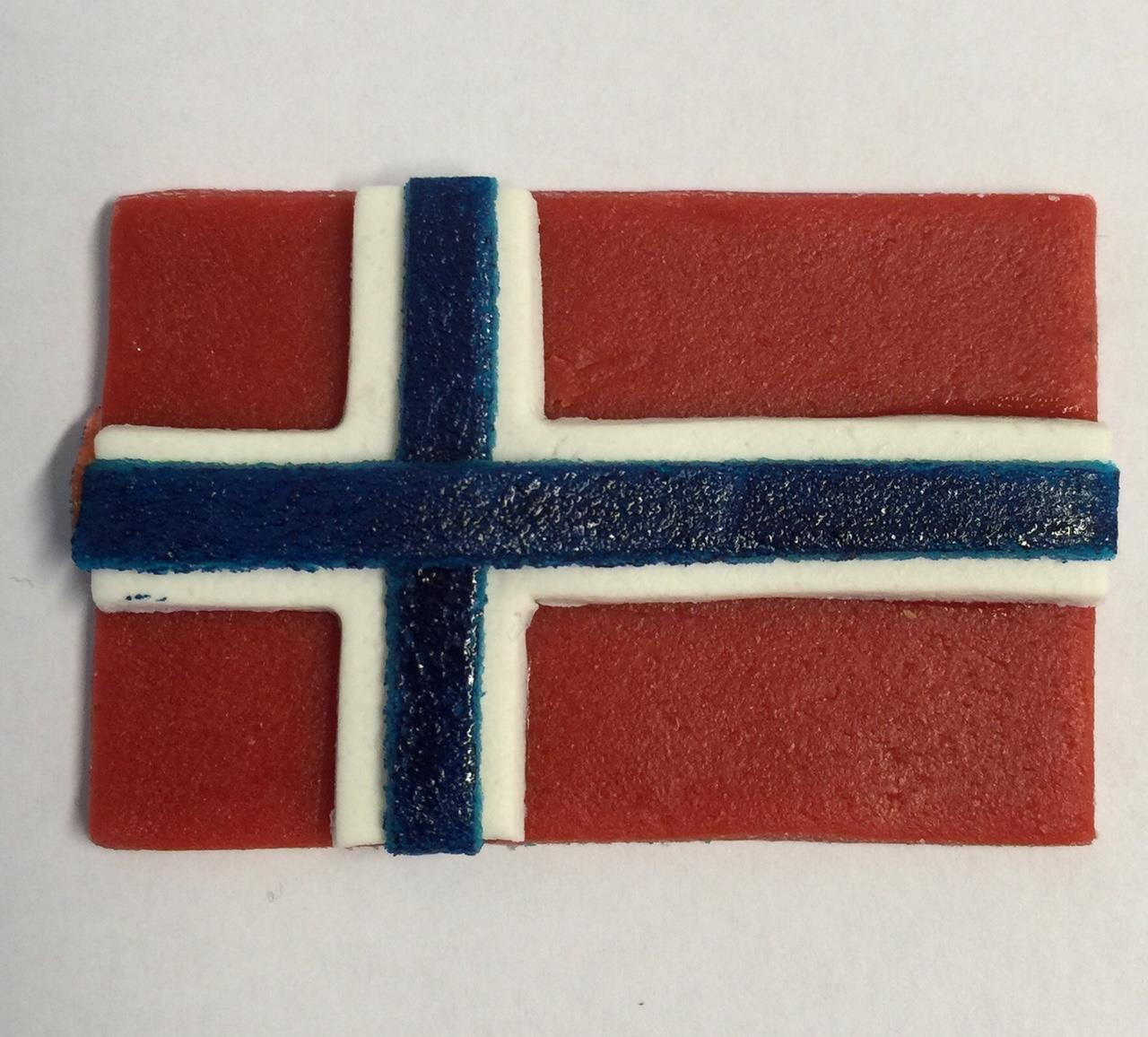 Utstikkersett Norsk Flagg