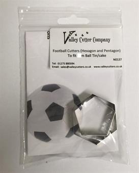 Utstikkersett Fotball 3D, 13cm VC