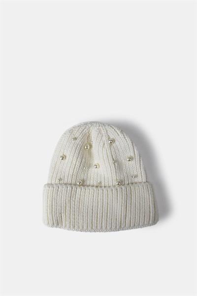 Re:Designed Rabi Hat, White
