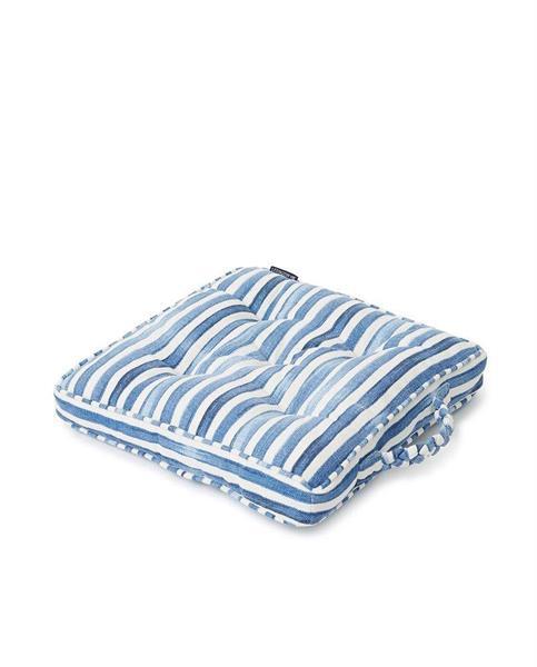 Lexington Striped Cotton Canvas Outdoor/Indoor Cushion