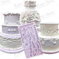 Silikonform Royal Icing border KD