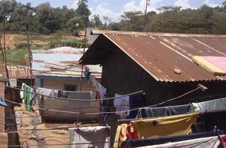 2012 - In Kibera slum