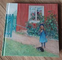 Skissbok/gästbok Brita, en katt och en smörgås
