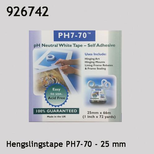 Hengslingstape PH7-70 25 mm
