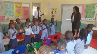 In S.A. Kibera School