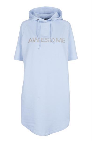 Prepair Ava Sweat Dress, Light Blue