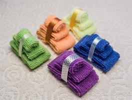 3 handdukar Lila miniatyr