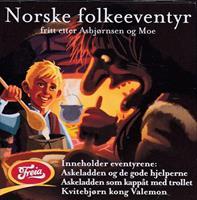 Norske eventyr fritt etter Asbjørnsen og Moe (LYDB