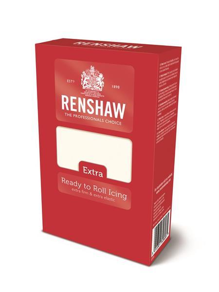Fondant Hvit, Extra Renshaw, 1kg