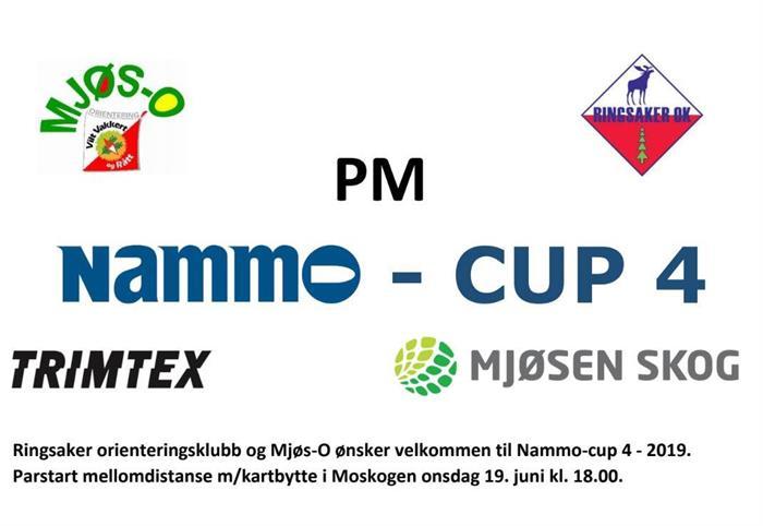 Nammo-cup 4 onsdag 19. juni i Moskogen