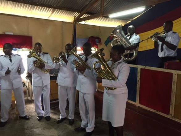 Six more instruments for Mathare Corps Band